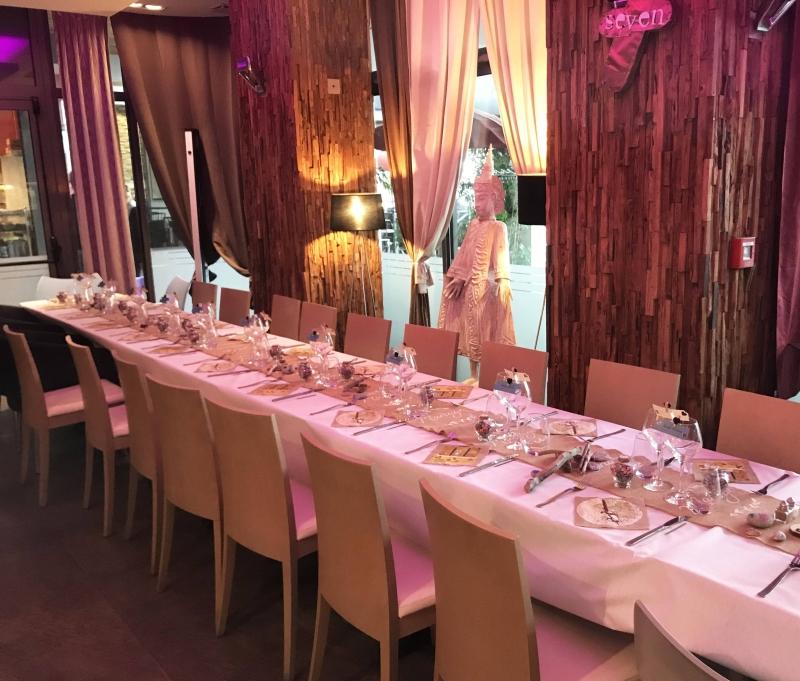 Repas de groupe - The 7th Heaven - Restaurant Fréjus